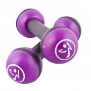Zumba Леки тежести, 2 бр, 1 кг, лилави, ZUM011