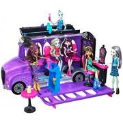 Monster High Deluxe School Bus & Spa Playset