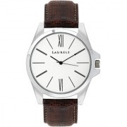 LAURELS Opus Series White Color Men Watch (LO-OM-0109)