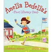 Amelia Bedelia's First Library Card, Hardcover/Herman Parish
