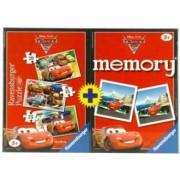 Puzzle + Joc Memory Disney Cars 3 Buc In Cutie 152025 Piese