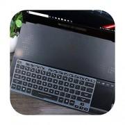Keyboard Cover Funda de Silicona para Teclado ASUS Rog Zephyrus S Gx701 Gx701Gs Gx701Gwr Gx701Gxr Gx701Gx Gx701G Gx701Gw de 17,3 Pulgadas, Negro