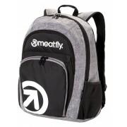 Meatfly Backpack Vault 2 Backpack A - Black, Heather Grey