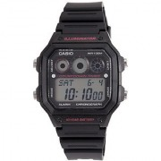 Casio Youth-Digital Digital Multi-Color Dial Mens Watch - AE-1300WH-1A2VDF (D105)