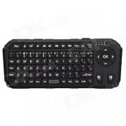 SEENDA 2.4G Bluetooth teclado inalambrico de 75 teclas con raton de aire - Negro