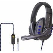 Casti gaming PC PS4 XBOX Microfon Negru