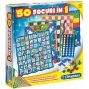 Jocuri de societate Clementoni -50 jocuri in 1-