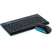 KBD, Rapoo 8000, Desktop, Wireless, Blue