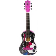 Monster High 30-Inch Acoustic Guitar - Black/Pink, Styles May Vary (88048)
