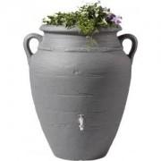 Garantia regenton amphora antraciet 360 liter met plantenbak