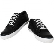 Yellow Tree Good Quality Casual Designer Funky Look Black White Shoes For Mens Boys ( R003 )