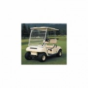 Classic Accessories Fairway Portable Golf Cart Windshield - White/Clear, Model 72033