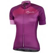 ultrakönnyű női jersey Rogelli STEL LE rövid ujj, boros 010.142.
