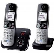 Teléfono Digital Panasonic De 2 Auriculares KX-TG6822