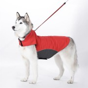 Reflective Waterproof Dog Coats Winter Warm Padded Pet Puppy Clothes Jacket