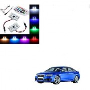 Auto Addict Car 12 LED RGB Roof Light with IR Remote Car Fancy Lights For Audi RS 6