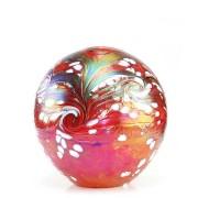 Medium Glazen Bal Dieren Urn Elan Red (1.5 liter)
