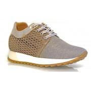 Pantofi sport D Plus tip sneakers , crem
