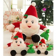 ViewHuge Christmas Doll Decoration Doll Gift Santa Claus Plush Toys for Christmas Gift Home Decoration