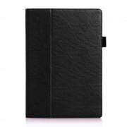 Javu - Lenovo Tab 2 A10-70 Hoes - Handige Luxe Book Cover Zwart