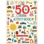 The 50 States: Activity Book: Maps of the 50 States of the USA, Paperback/Gabrielle Balkan