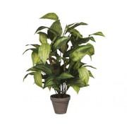 Planta artificiala, crin de toamna, verde