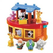 Fisher Price Little People About Discovery Noah's Ark (with Zebras, Giraffes, Lions + Elephants)
