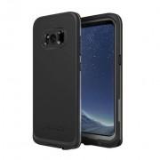 Husa waterproof Lifeproof Fre Samsung Galaxy S8 Plus Asphalt Black