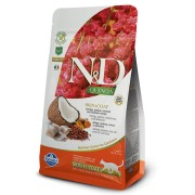 N&D Grain Free Cat QUINOA Skin Coat Herring 300 g