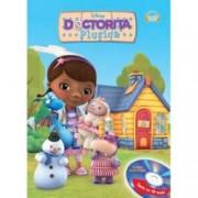 Disney Audiobook. Doctorita Plusica Carte + CD