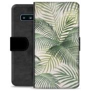 Samsung Galaxy S10+ Premium Portemonnee Hoesje - Tropisch