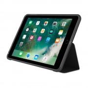 Incipio Clarion Folio Case - удароустойчив хибриден кейс, тип папка за iPad 5 (2017) (черен)
