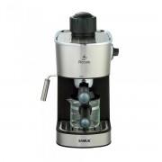 Espressor Samus Piccolo, 3.5 bari, Rezervor 0.24 L, Capacitate 4 ceşti, Filtru inox, Cană gradată, Negru/Inserții inox