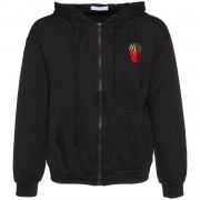 ComeGetFashion Hoodie Fries For Life Black - Truien