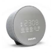 Watch, Philips, радио с часовник и аларма, LED дисплей с огледално покритие, Функция за двоен будилник, USB (TADR402)