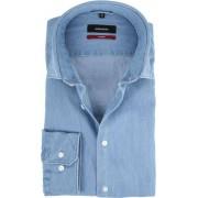 Seidensticker Overhemd MF Denim Blue