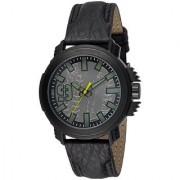 Fastrack Quartz Black Round Men Watch 38015PL05