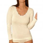 Achel Tee-shirt Chemise Manches Longues femme - Laine & Soie