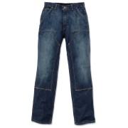 Carhartt Double Front Logger Jeans Hose Blau 36