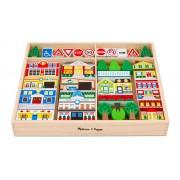 Betzold Stadt-Spiel-Set aus Holz