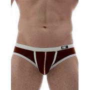 Good Boy Gone Bad Kenji Bikini Swimwear Brown/White