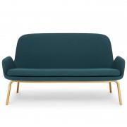 Normann Copenhagen Era Sofa bank met eiken onderstel famehybrid groen