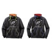 TERRAX WORKWEAR Sweatshirt, Farbe schwarz/gelb, Gr.M