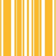 Creative Converting Coordinates Collection 16 Count Beverage Napkins School Bus Yellow Stripe