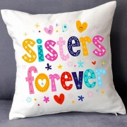 GRABADEAL Beautiful Sisters Forever Cushions gift for Sisters