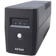 UPS KSTAR Micropower Micro 600 LED, 600VA/360W, 2 x Schuko, Management