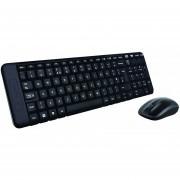 Kit Teclado Y Mouse Logitech MK220 Inalambrico USB-Negro