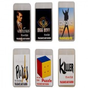 Fragrance And Fashion Gentleman Big Boss Confidence Evening In Paris Puzzle Killer Edt of 15 Ml Each