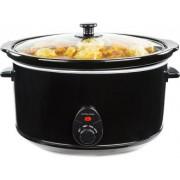 Oala electrica Slow cooker Andrew James AJ000240, Volum 8 Litri, Vas Ceramic