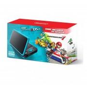 Consola New Nintendo 2DS XL + Mario Kart 7-Negro/Turquesa